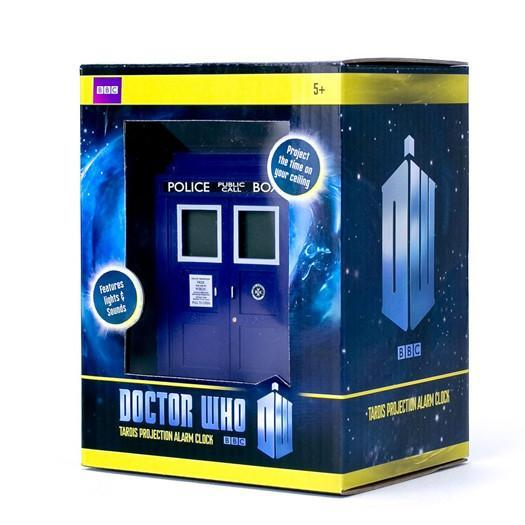 Ikon Doctor Who Tardis Projection Alarm Clock