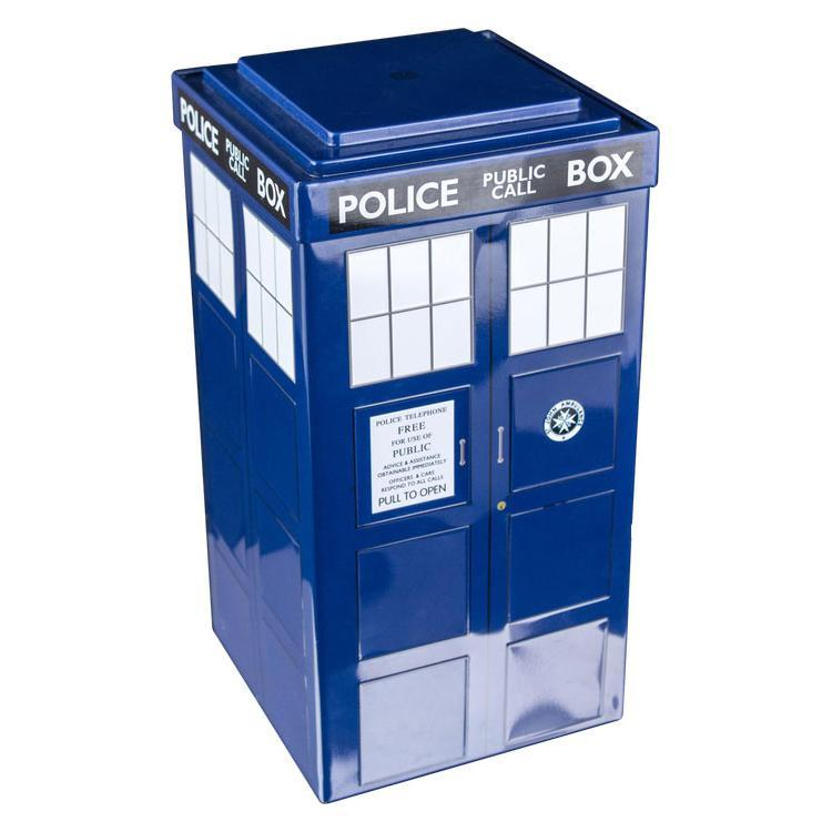 Ikon Doctor Who Tardis Tin Storage Box