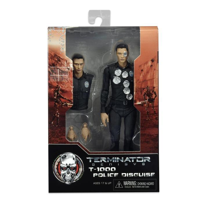 Terminator Genisys T-1000 Police Disguise Action Figure - - Ikon - Yellow Octopus