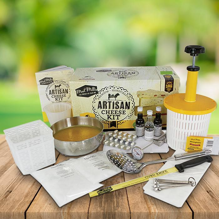 Christmas gift ideas for men | Mad Millie Make Your Own Cheese Kit | Beanstalk Mums