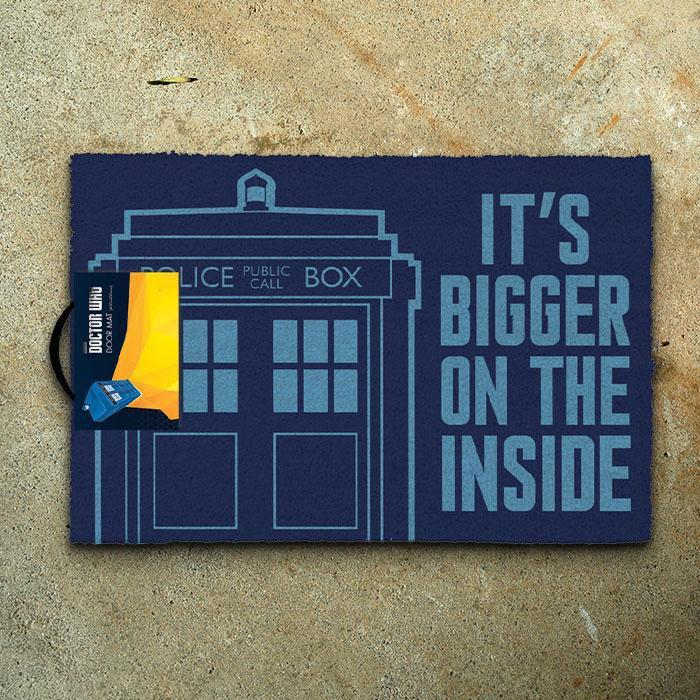 Impact Posters Doctor Who Tardis Door Mat