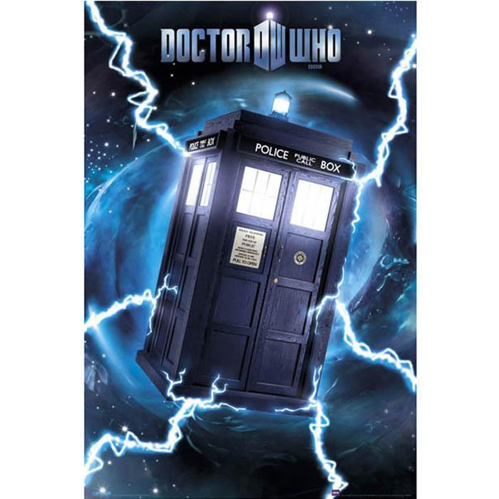 Dr Who Tardis Door Poster 158 x 53cm - - Impact Posters - Yellow Octopus