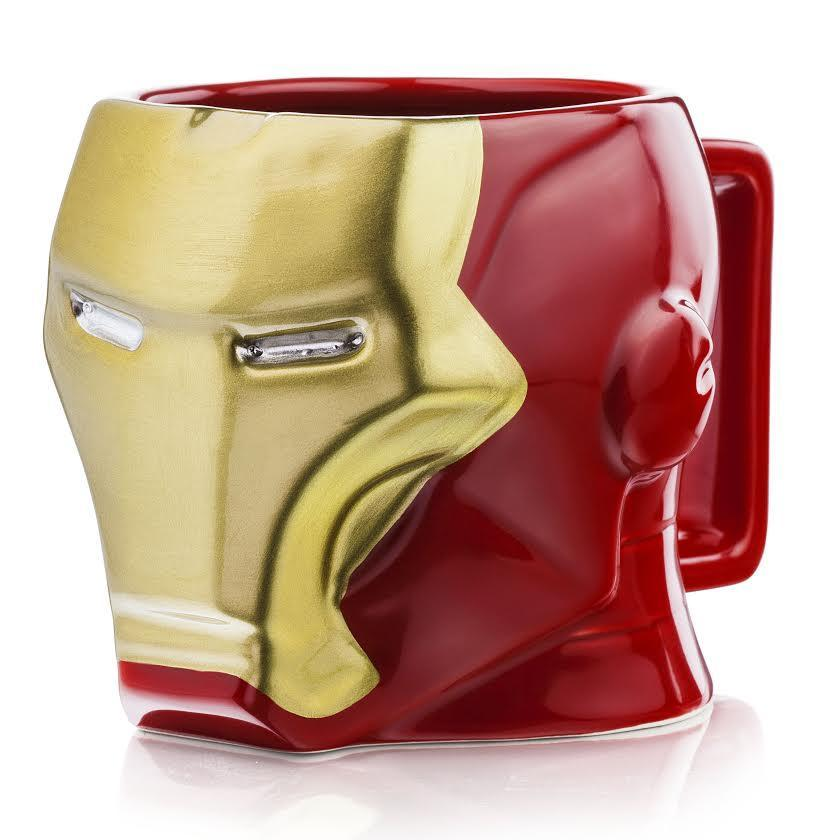 Iron Man 3D Mug - - Iron Man - Yellow Octopus