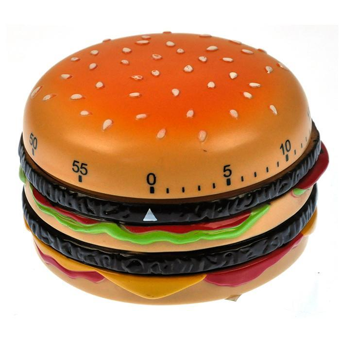 Burger Time Kitchen Timer - - IS - Yellow Octopus