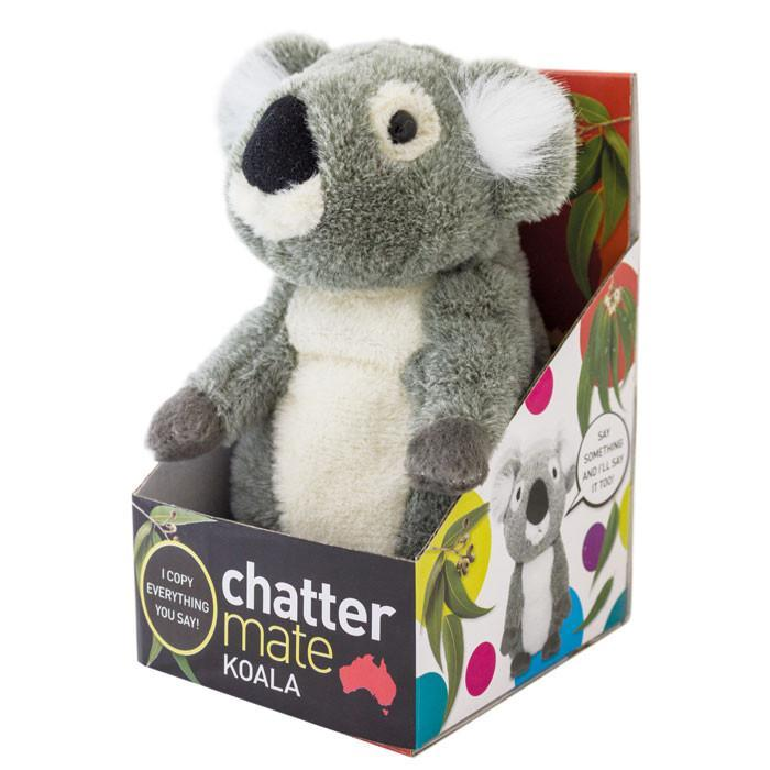 Chatter Mate Talking Animals - Copies Everything You Say! - Kangaroo - IS - Yellow Octopus