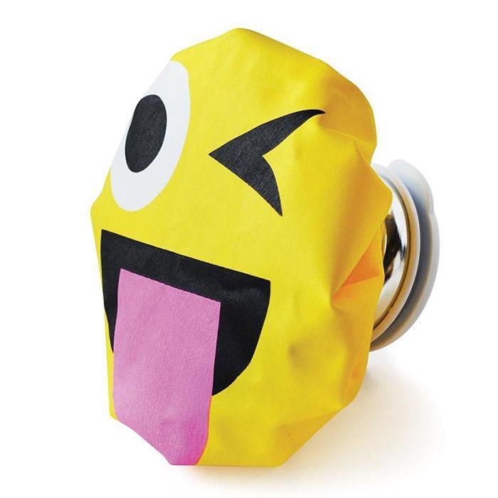 Emoji Ice Bags - Winking with Tongue Out - IS - Yellow Octopus