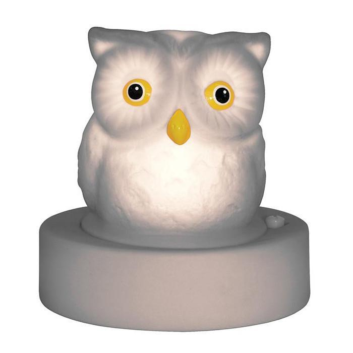 Night Owl Colour-Changing LED Night Lamp - - IS - Yellow Octopus