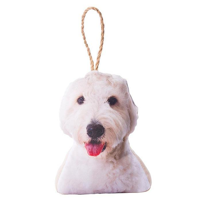 Photo-Realistic Dog & Cat Doorstops - Cavoodle - IS - Yellow Octopus