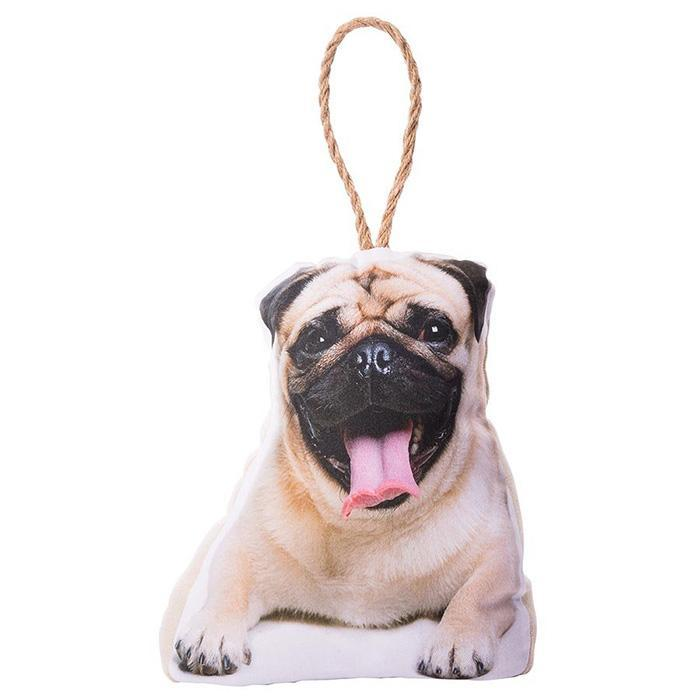 IS Photo-Realistic Dog & Cat Doorstops Pug