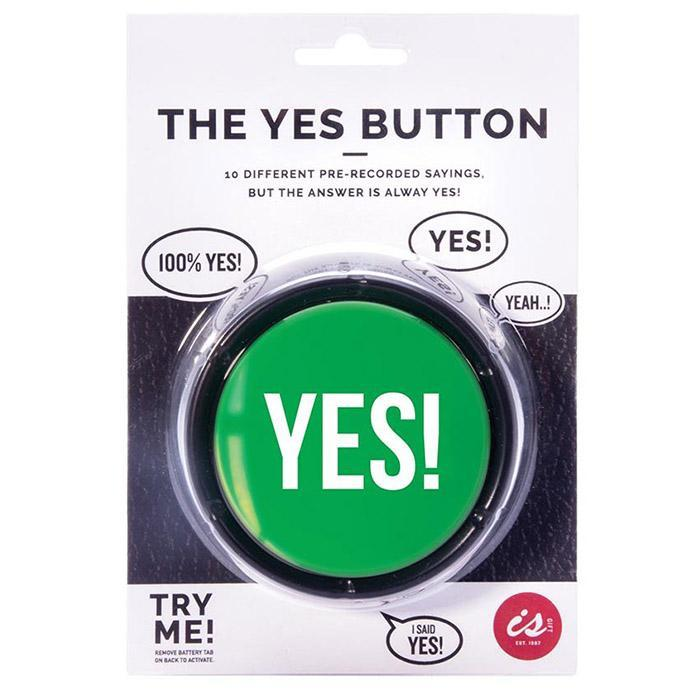 The Yes! Button - - IS - Yellow Octopus