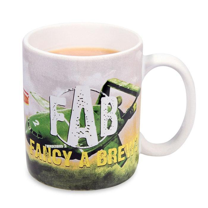 Thunderbirds Fancy A Brew Mug - - IS - Yellow Octopus