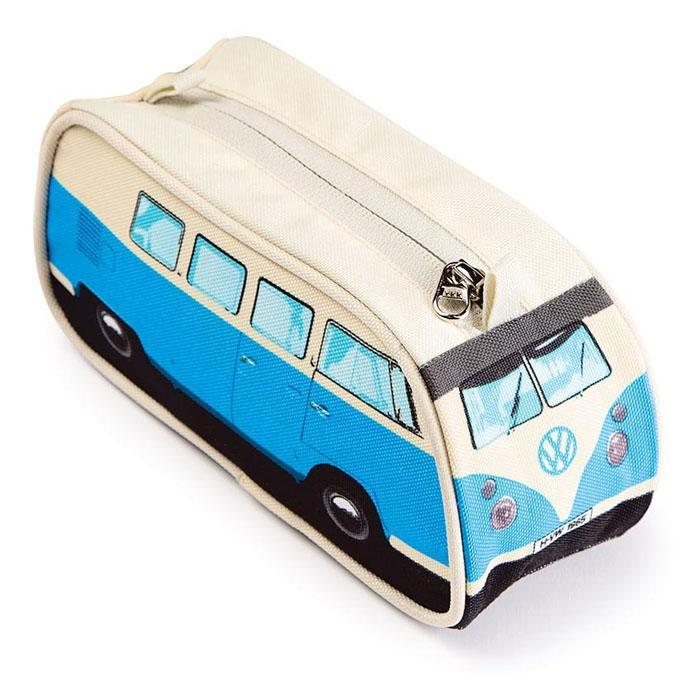 VW Camper Van Pencil Case - - IS - Yellow Octopus