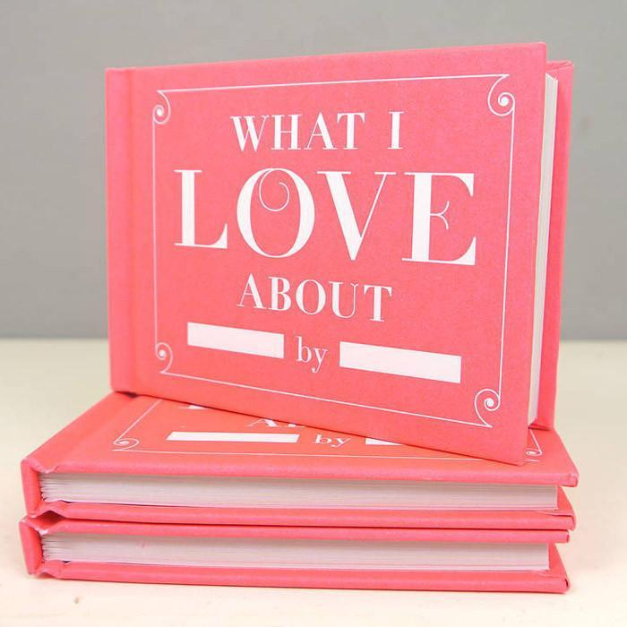 What I Love About You by Me | Fill in the Blanks Journal - - IS - Yellow Octopus