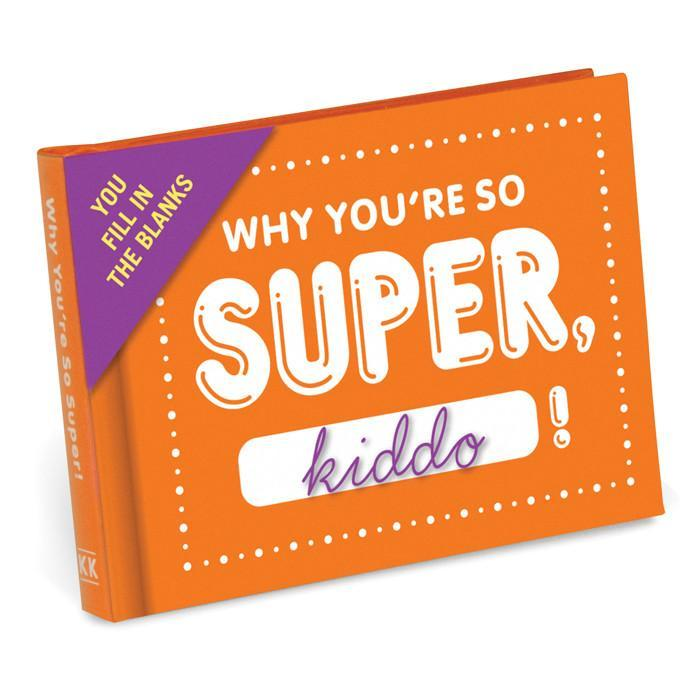 Why You're So Super, Kiddo! | Fill in the Blanks Journal - - IS - Yellow Octopus