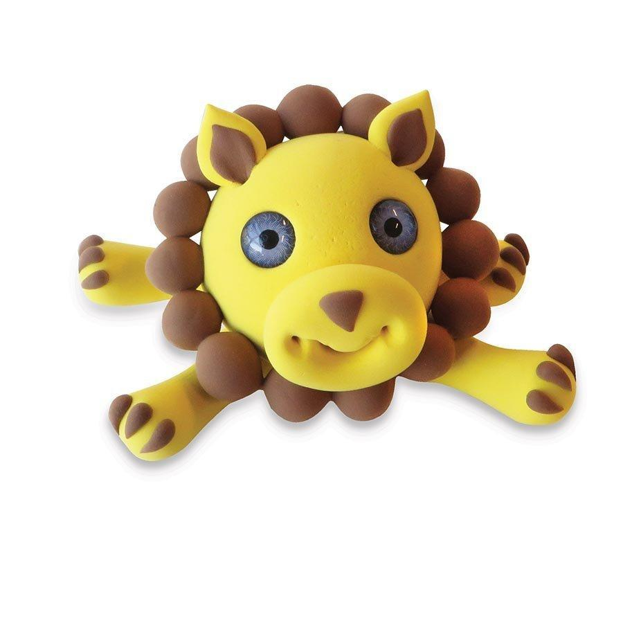 Zoo Animals Super Putty - Lion - IS - Yellow Octopus