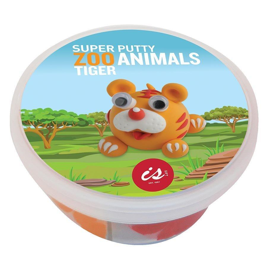 Zoo Animals Super Putty - Elephant - IS - Yellow Octopus