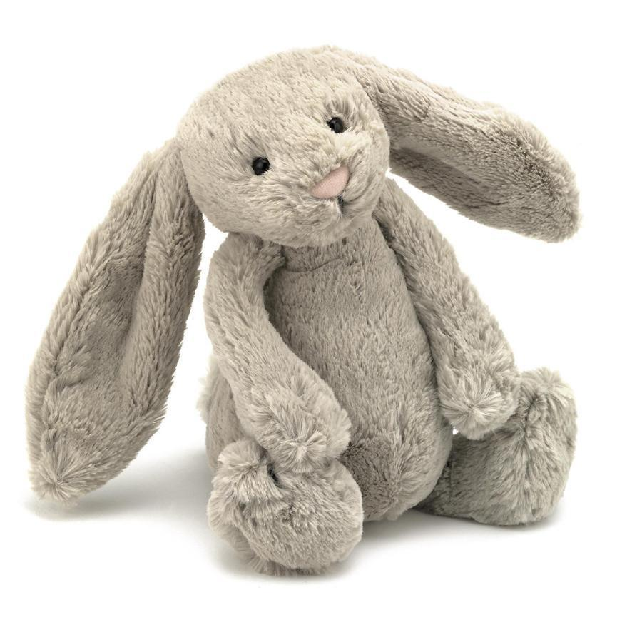 Jellycat Beige Bashful Bunny - Medium 31cm - JellyCat - Yellow Octopus