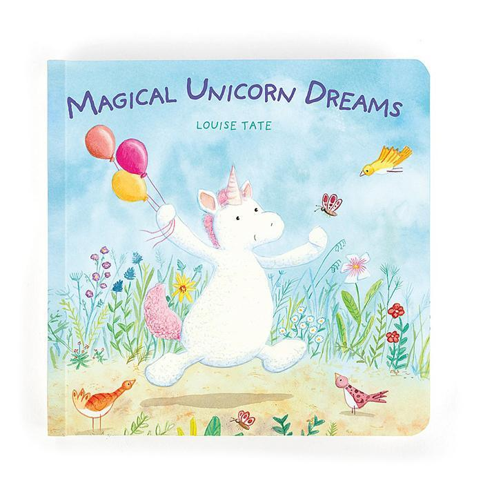 Jellycat Magical Unicorn Dreams Picture Book - - JellyCat - Yellow Octopus