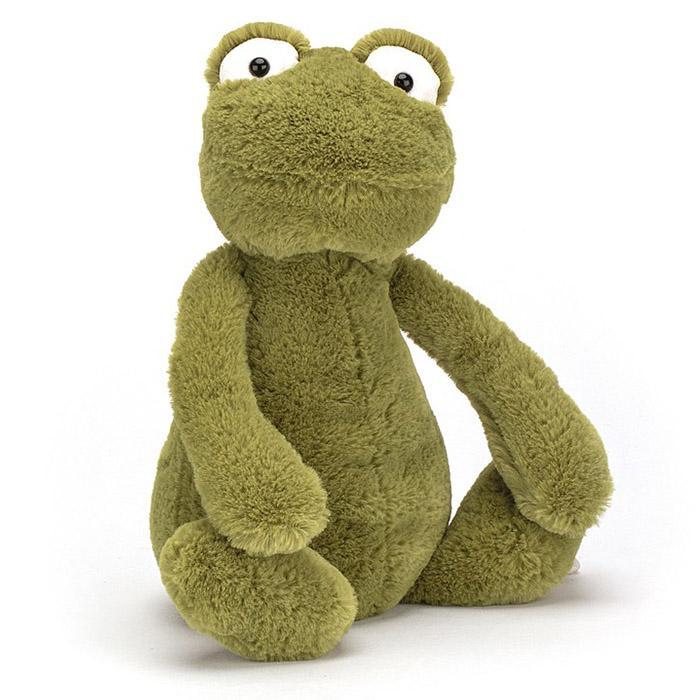 Jellycat Medium Bashful Frog - - JellyCat - Yellow Octopus
