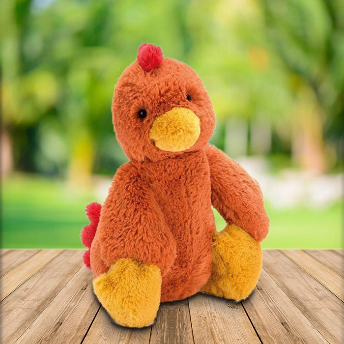 JellyCat Jellycat Medium Bashful Rooster