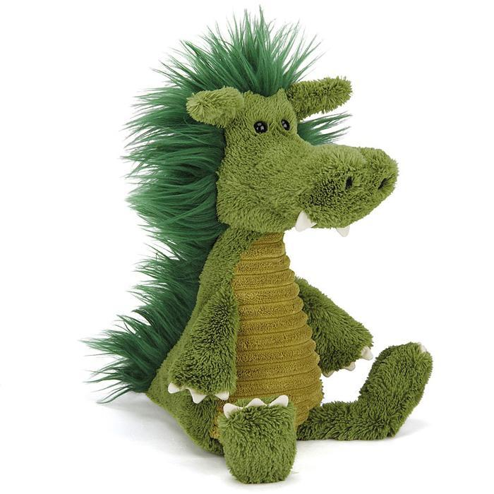 Jellycat Snagglebaggle Dudley Dragon - - JellyCat - Yellow Octopus