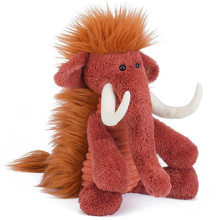 Jellycat Snagglebaggle Winston Woolly Mammoth - - JellyCat - Yellow Octopus