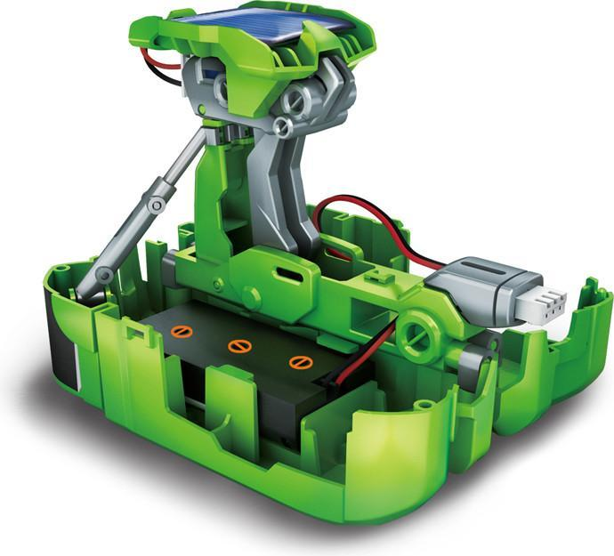 Johnco 7-in-1 Solar Rechargeable Vehicle Construction Station Kit