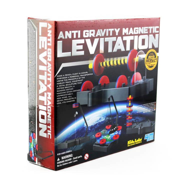 Anti-Gravity Magnetic Levitation Kit | 4M - - Johnco - Yellow Octopus