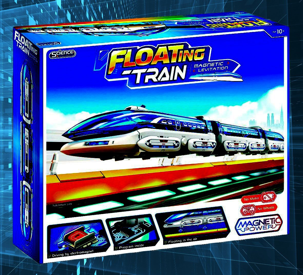 Johnco Magnetic Levitation Floating Train Set