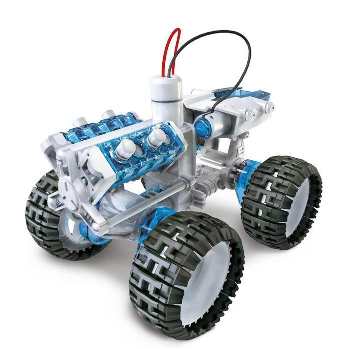 Salt Water Fuel Cell Engine Car Kit - - Johnco - Yellow Octopus