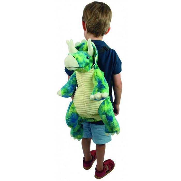Johnco Stegosaurus Plush Backpack