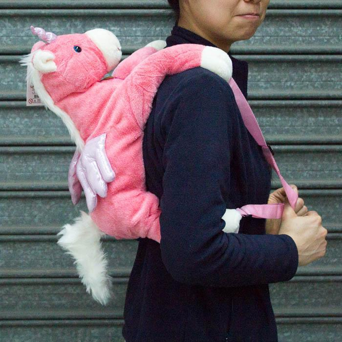 The Unicorn Backpack - - Johnco - Yellow Octopus