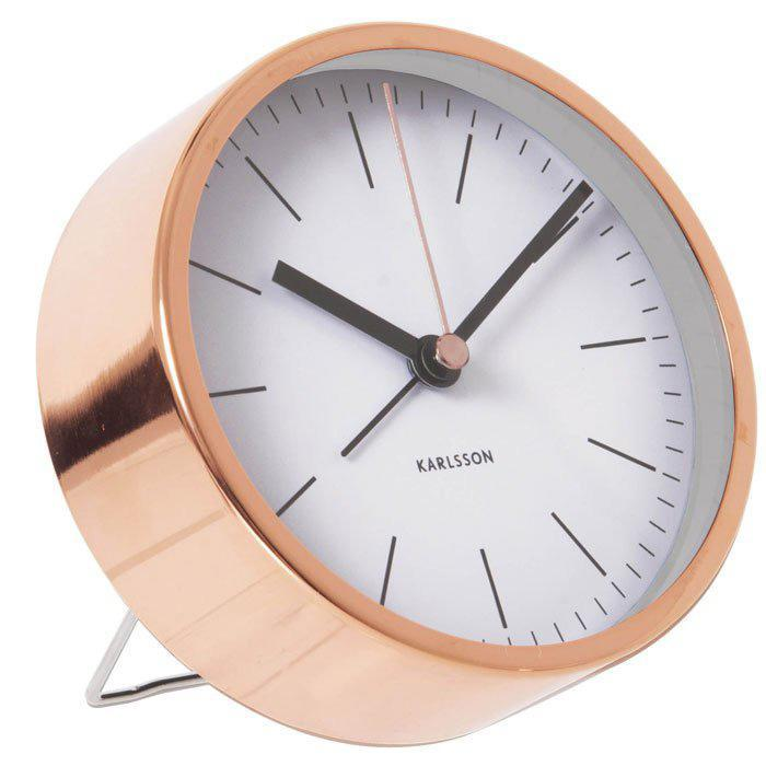 Karlsson Tabletop Copper Alarm Clock - - Karlsson - Yellow Octopus