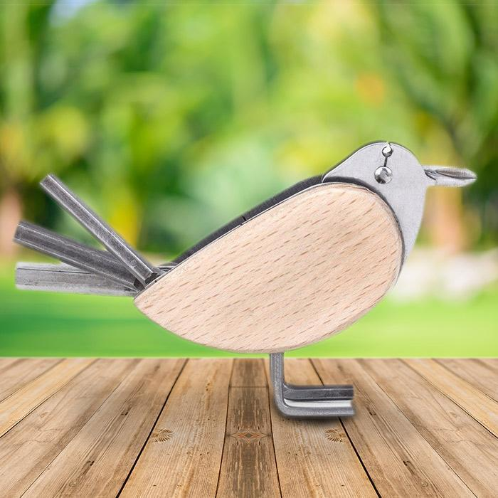 Kikkerland Kikkerland 6-in-1 Bird Multi Tool