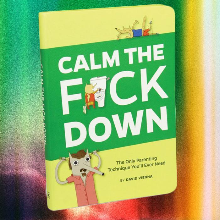 Knock Knock Calm the F#ck Down Parenting Book
