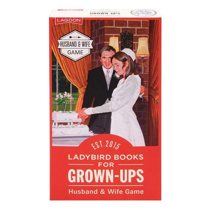 Lagoon Husband & Wife Game | Ladybird Books for Grown-Ups
