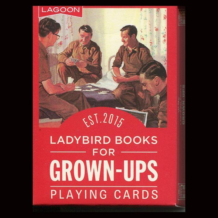 Ladybird Books Playing Cards For Grown Ups - - Lagoon - Yellow Octopus