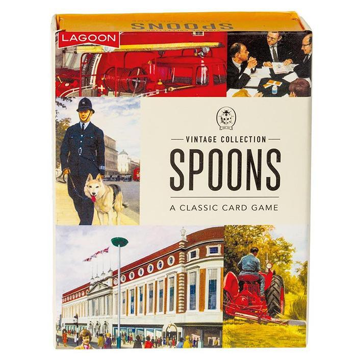 Lagoon Ladybird Books Spoons Card Game