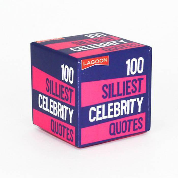 Lagoon Little Boxes Of Random Fun Silliest Celebrity Quotes
