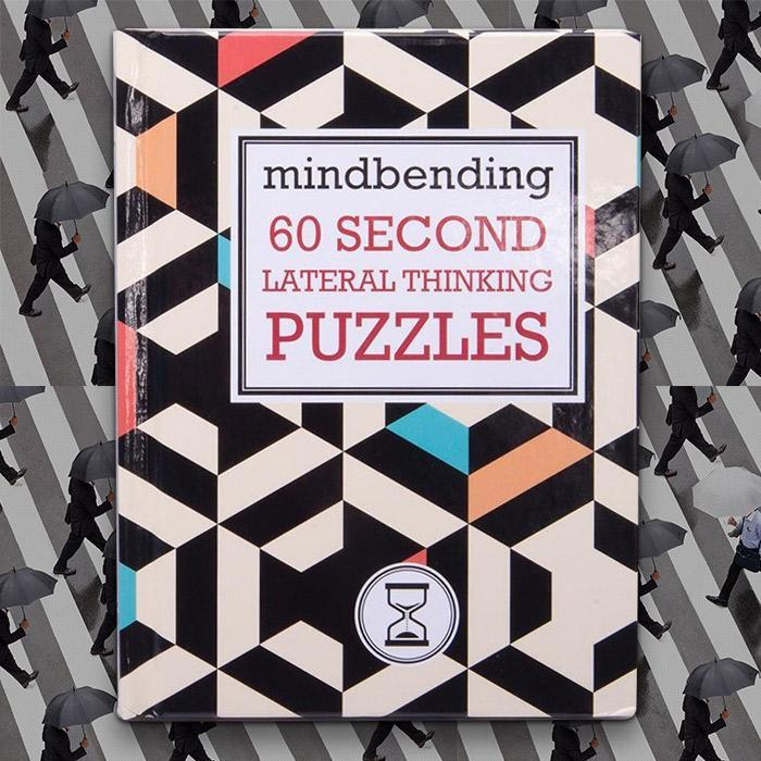 Mindbending 60 Second Lateral Thinking Puzzles - - Lagoon - Yellow Octopus