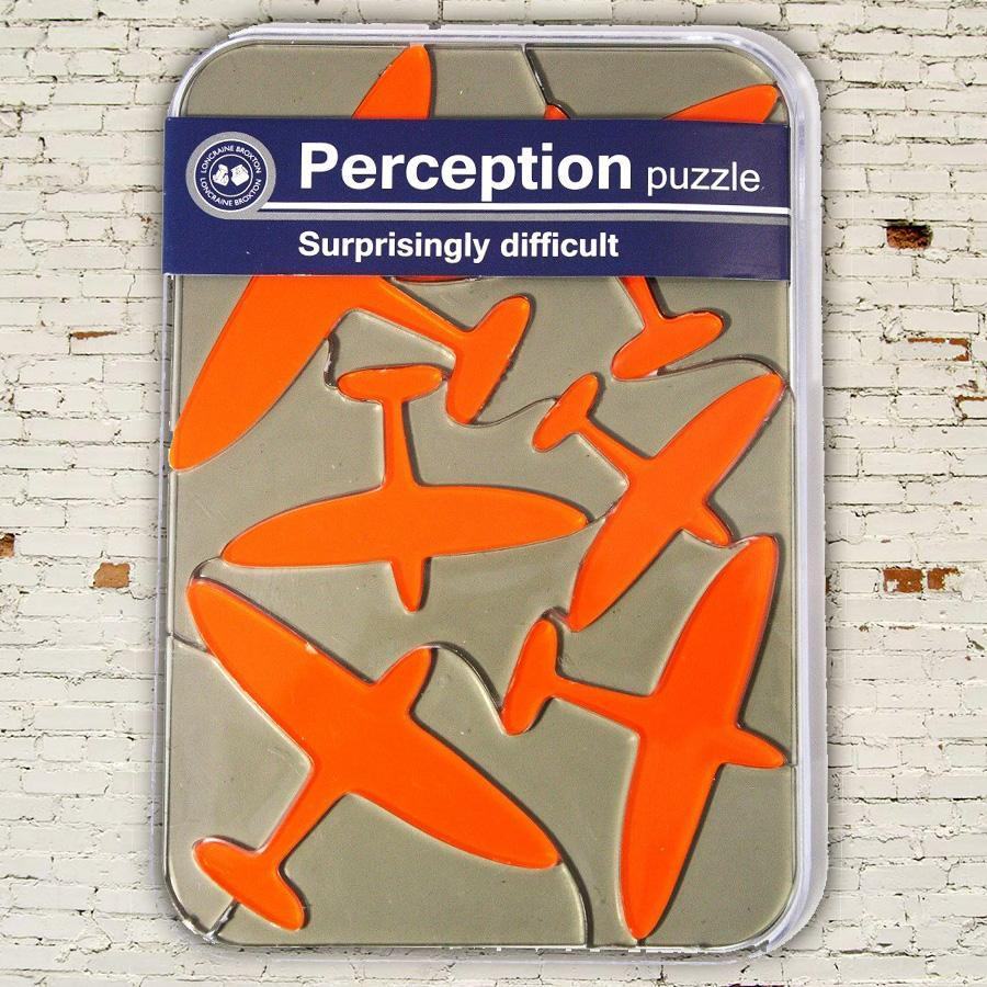 Perception Brain Teaser Puzzles - Aeroplane - Lagoon - Yellow Octopus