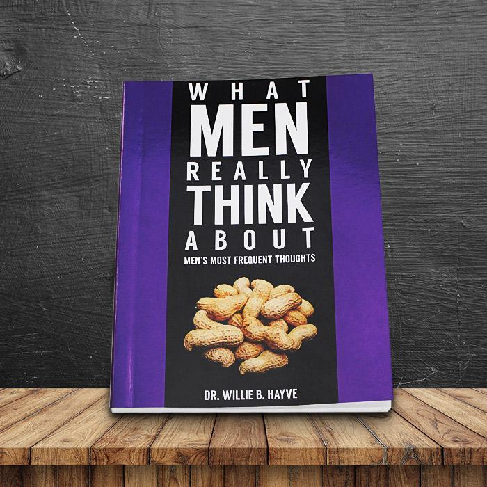 What Men Really Think About Prank Book - - Lagoon - Yellow Octopus