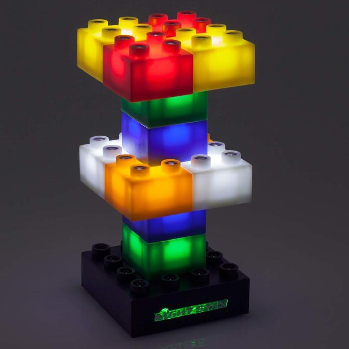 Light Stax Light Stax DIY Building Blocks LED Night Lamp Starter (12 pieces)
