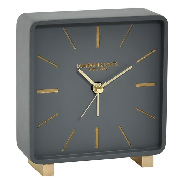 London Clock Torget Silent Alarm Clock - - London Clock Company - Yellow Octopus