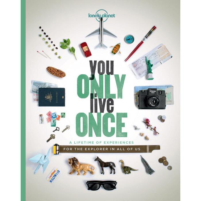 You Only Live Once Book | Lonely Planet - - Lonely Planet - Yellow Octopus