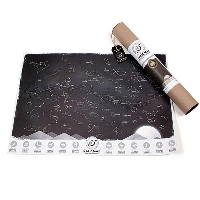 Luckies of London Glow In The Dark Star Map