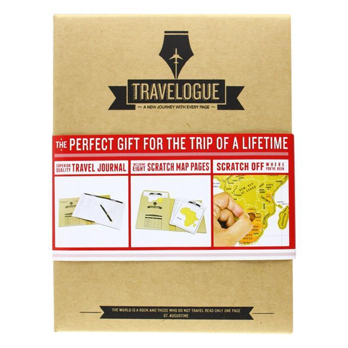 Travelogue World Travel Journal | Luckies - - Luckies of London - Yellow Octopus