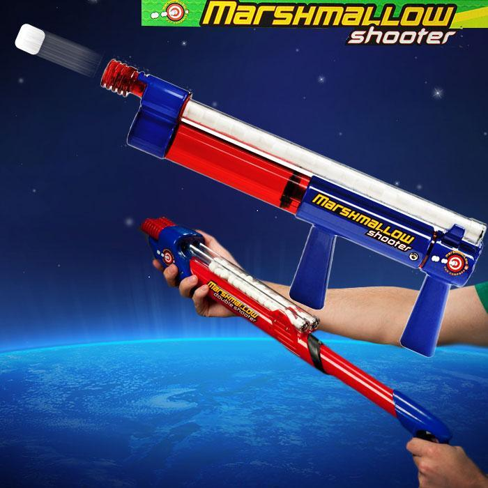 Marshmallow Shooter Gun - Shoots Up to 10m! - - Marshmallow Fun Company - Yellow Octopus