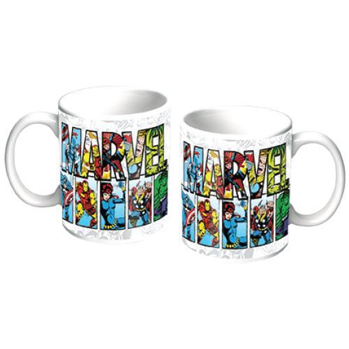 Official Marvel Comics Coffee Mug - - Marvel - Yellow Octopus