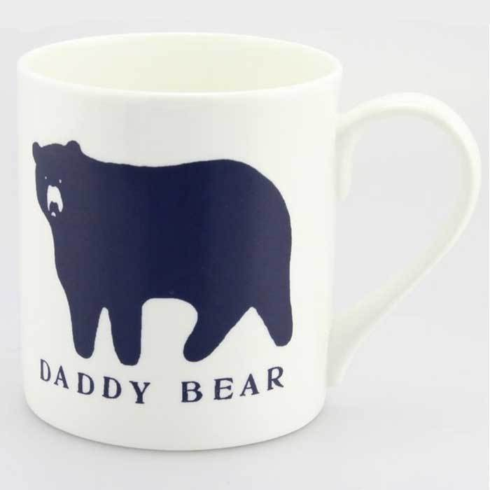 Daddy Bear Mug - - McGlaggan Smith - Yellow Octopus